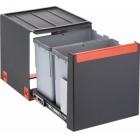 Franke Sorter Cube 40 2x14L, ruční výsuv, 134.0039.330