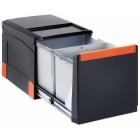 Franke Sorter Cube 41 2 x 18L, ruční výsuv