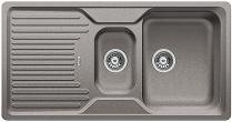 CLASSIC 6 S aluminium, kuchyňský dřez SILGRANIT - 521321