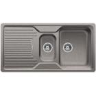Blanco CLASSIC 6 S aluminium, kuchyňský dřez SILGRANIT - 521321