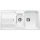 Blanco CLASSIC 6 S bílá, kuchyňský dřez SILGRANIT - 521322