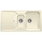 Blanco CLASSIC 6 S jasmín, kuchyňský dřez SILGRANIT - 521323