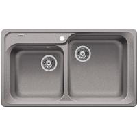 Blanco CLASSIC 8 aluminium SILGRANIT® PuraDur® II bez excentru - 511685