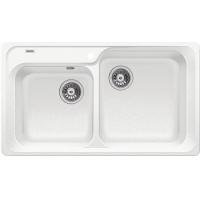 Blanco CLASSIC 8 bílá SILGRANIT® PuraDur® II bez excentru - 510169
