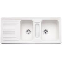 Blanco CLASSIC 8 S bílá SILGRANIT® PuraDur® II bez excentru - 521328