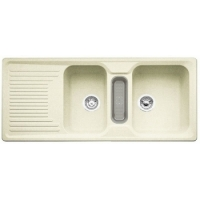 Blanco CLASSIC 8 S jasmín SILGRANIT® PuraDur® II bez excentru - 521329