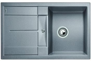 Blanco METRA 45 S aluminium SILGRANIT® PuraDur® II bez excentru - 513186