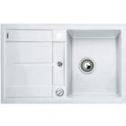 Blanco METRA 45 S bílý SILGRANIT® PuraDur® II s excentrem - 513028