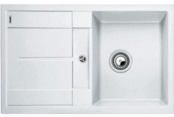 METRA 45 S bílý SILGRANIT® PuraDur® II bez excentru - 513187