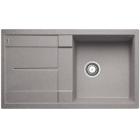 Blanco METRA 5 S aluminium SILGRANIT® PuraDur® II s excentrem - 513036