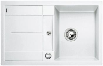 Blanco METRA 5 S bílý SILGRANIT® PuraDur® II s excentrem - 513037