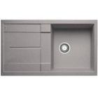 Blanco METRA 5 S aluminium SILGRANIT® PuraDur® II bez excentru - 513204