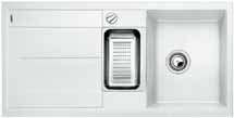 Blanco METRA 6 S bílý SILGRANIT® PuraDur® II s excentrem - 513046