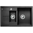 Blanco METRA 6 S Compact antracit SILGRANIT® PuraDur® II s excentrem - 513473