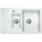 Blanco METRA 6 S Compact bílý SILGRANIT® PuraDur® II s excentrem - 513468