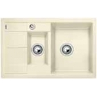 Blanco METRA 6 S Compact jasmín SILGRANIT® PuraDur® II s excentrem - 513469