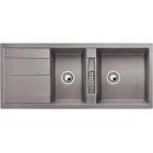 Blanco METRA 8 S aluminium SILGRANIT® PuraDur® II bez excentru - 513063