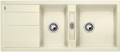 Blanco METRA 8 S jasmín SILGRANIT® PuraDur® II bez excentru - 513065