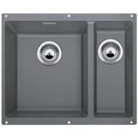 Blanco SUBLINE 340/160-U aluminium SILGRANIT® PuraDur® II 513789