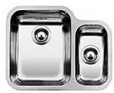 YPSILON 550-U kuchyňský dřez nerez lesk 518212