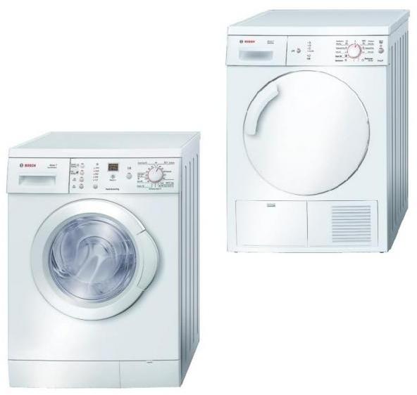 Set pračka a sušička WAE 24362 BY + sušička WTE 84123 BY
