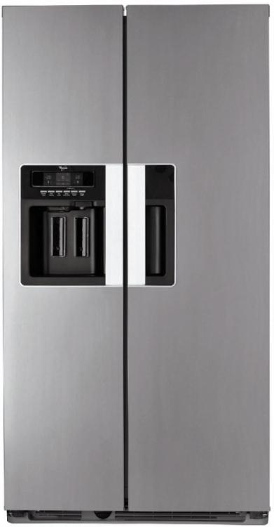 Americká chladnička WSN 5554 A+X