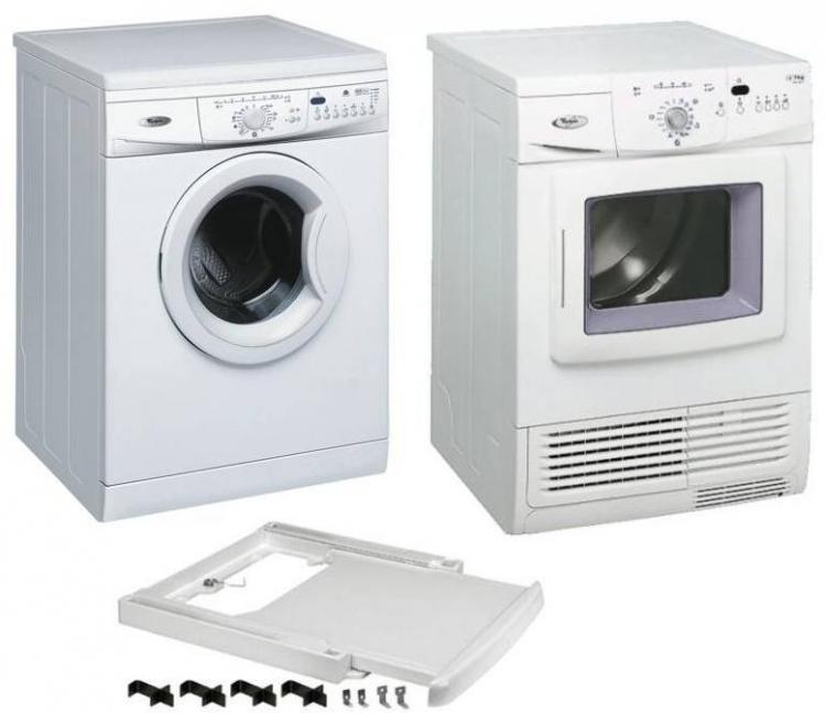 Set pračka a sušička AWO/D 45140 + AWZ 6460 + mezikus AMC 934