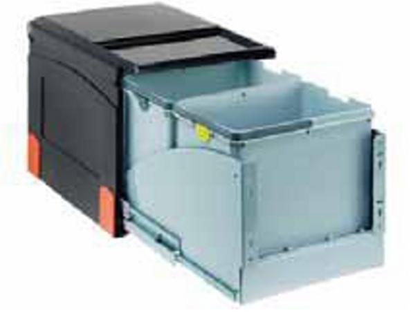 Sorter Cube 41 2 x 18L, automatický výsuv