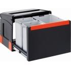 Franke Sorter Cube 50 1 x 14L 2 x 8L, ruční výsuv