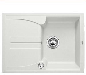 Enos 40 S bílý SILGRANIT® PuraDur® II bez excentru - 513801