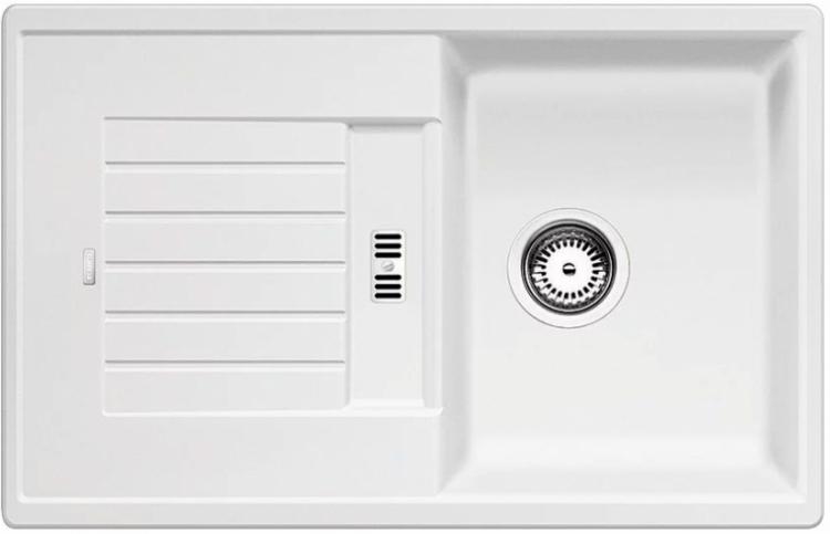 Zia 45 S bílý SILGRANIT® PuraDur® II bez excentru (514726)