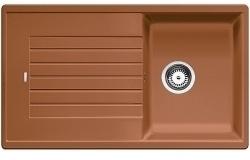 ZIA 45 SL koňak - Kuchyňský dřez (516744)