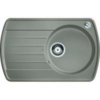 Blanco Rondoval 45 S aluminium SILGRANIT® PuraDur® II bez excentru - 515763