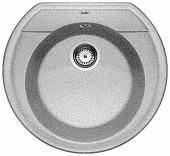 Blanco Rondoval 45 aluminium SILGRANIT® PuraDur® II s excentrem - 515659