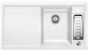 Blanco Axia II 5 S bílý SILGRANIT® PuraDur® II s excentrem - 516805