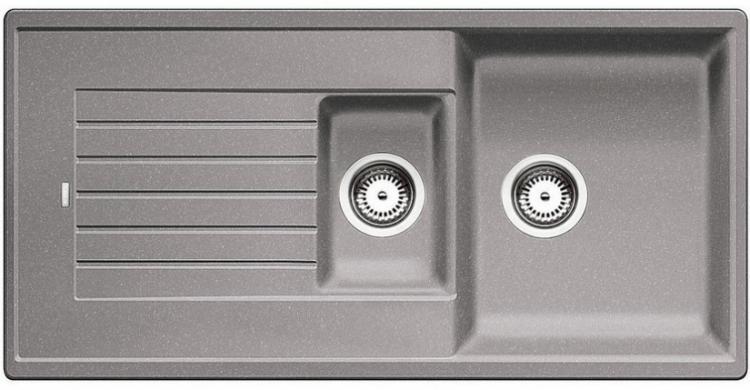 Zia 6 S aluminium SILGRANIT® PuraDur® II bez excentru (514741)