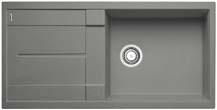 Metra XL 6 S aluminium SILGRANIT® PuraDur® II bez excentru - 515135