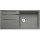 Blanco Metra XL 6 S aluminium SILGRANIT® PuraDur® II bez excentru - 515135