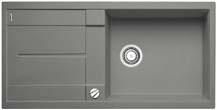 Blanco Metra XL 6 S aluminium SILGRANIT® PuraDur® II s excentrem - 515279
