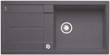 Blanco Metra XL 6 S šedá skála SILGRANIT® PuraDur® II s excentrem - 518881