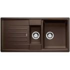 Blanco Lexa 6 S kávová SILGRANIT® PuraDur® II bez excentru - 515061
