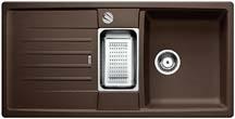 Lexa 6 S kávová SILGRANIT® PuraDur® II s excentrem - 515060
