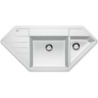 Blanco Lexa 9 E bílý SILGRANIT® PuraDur® II bez excentru - 515108