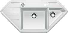 Lexa 9 E bílý SILGRANIT® PuraDur® II s excentrem - 515098