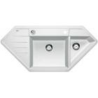 Blanco Lexa 9 E bílý SILGRANIT® PuraDur® II s excentrem - 515098