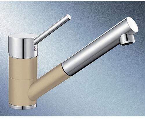 Antas-S béžová champagne/chrom tlaková SILGRANIT® -Look - 515352