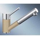 Blanco Antas-S béžová champagne/chrom tlaková SILGRANIT® -Look - 515352