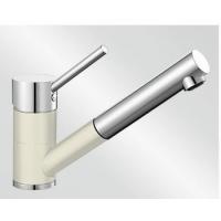Blanco Antas-S jasmín/chrom tlaková SILGRANIT® -Look - 515351