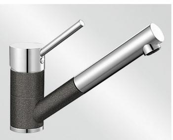 Antas-S antracit/chrom tlaková SILGRANIT® -Look - 515356