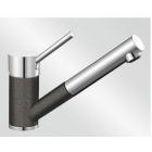 Blanco Antas-S antracit/chrom tlaková SILGRANIT® -Look - 515356